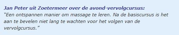 vervolgcursus 1 OMB-Academie.nl
