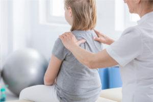 Massage met het hele gezin