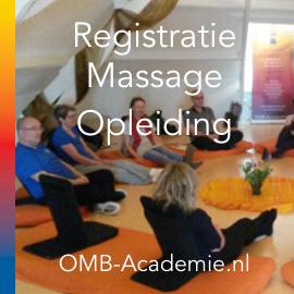 Registratie massage opleiding