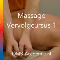 Massage Vervolg cursus 1