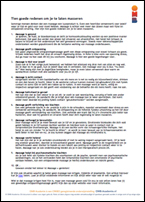 Gezondheidseffecten van een massage